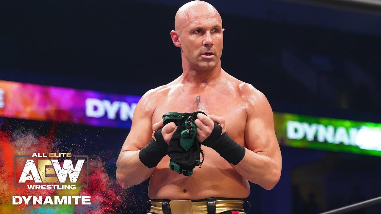 Christopher Daniels Shows Off Really Bad Eye After AEW Dynamite Match