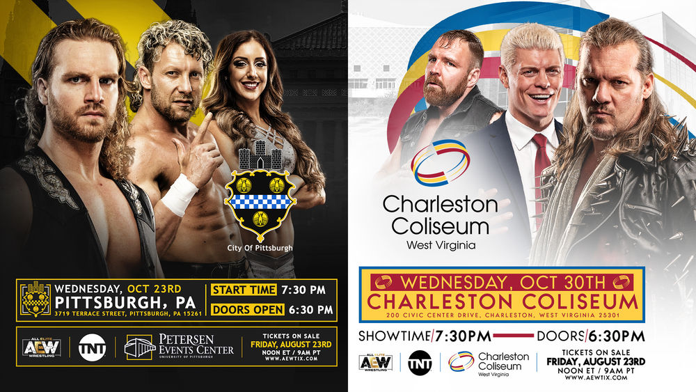 AEW Show Ticket Announcement